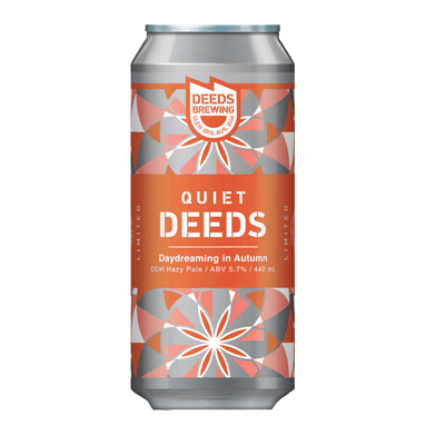 Quiet Deeds Daydreaming in Autumn DDH Hazy Pale Ale
