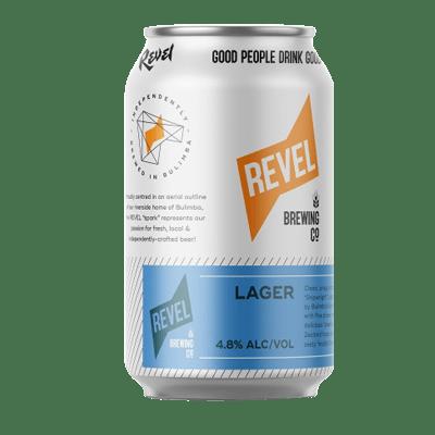 Revel New World Lager