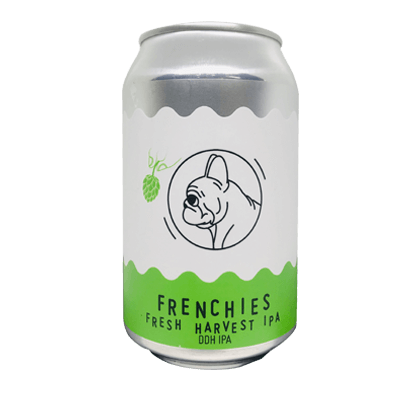 Frenchies Fresh Harvest IPA DDH West Coast IPA
