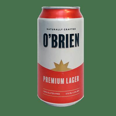 O'Brien Premium Lager 375ml Can