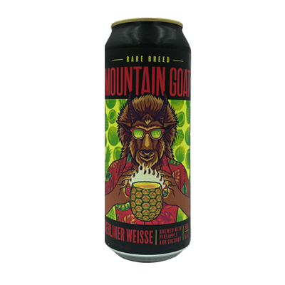 Mountain Goat Rare Breed: Pineapple And Coconut Berliner Weisse