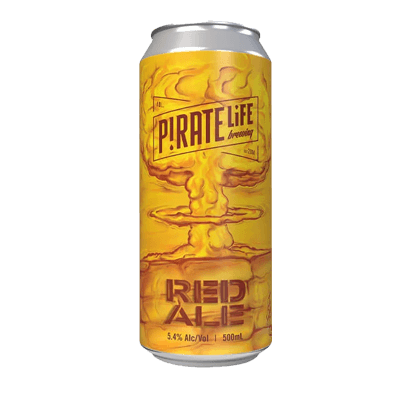 Pirate Life Red Ale 500ml Can