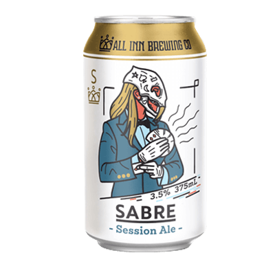 All Inn Sabre Session Ale