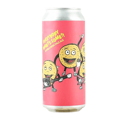 "Hoof Hearted Everybody Wants Some ""Citra"" Imperial IPA"