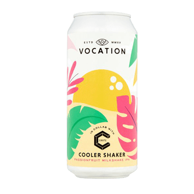 Vocation Cooler Shaker Passionfruit IPA