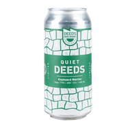 Quiet Deeds Keyboard Warrior Triple IPA