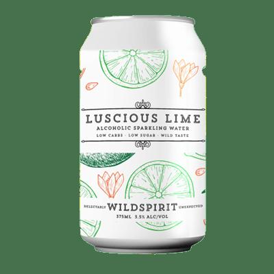 Wildspirit Luscious Lime Seltzer