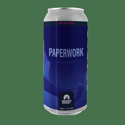 Mountain Culture Paperwork Hazy Pale Ale (3 Can Limit)