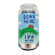 New England Down The Hill Hazy IPA with Chai