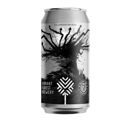 Vibrant Forest/Black Iris Shattered Paradigm Black IPA