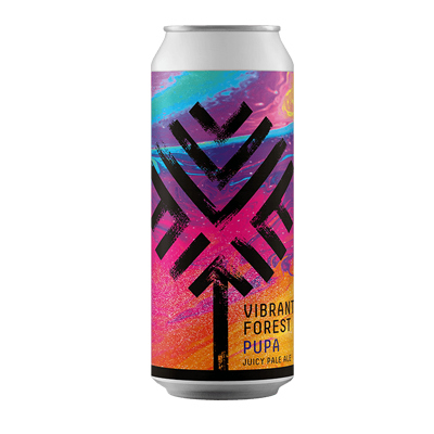 Vibrant Forest Pupa Juicy Pale Ale