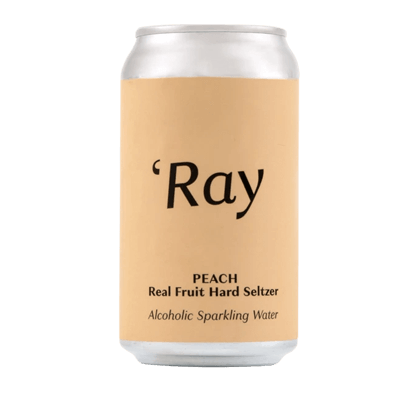 Hop Nation Ray Peach Hard Seltzer