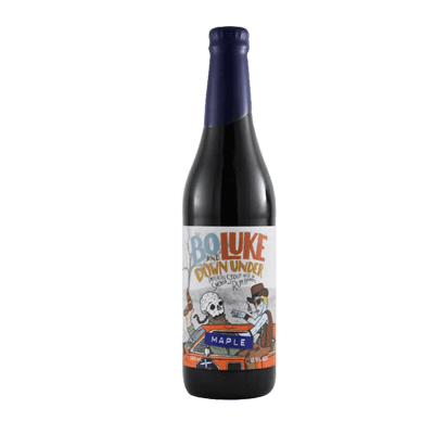 Hawkers Bo & Luke Down Under Maple Imperial Stout