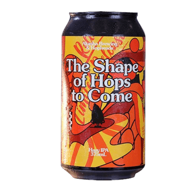 Akasha The Shape of Hops To Come Hazy IPA