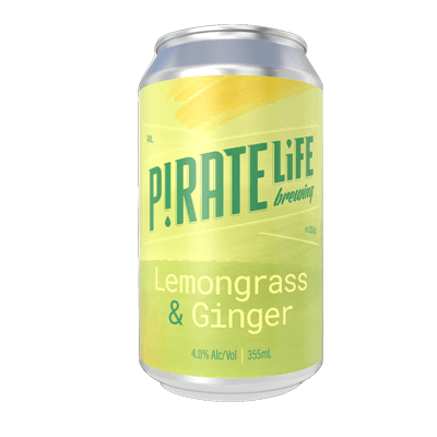 Pirate Life Lemongrass And Ginger Sour Ale