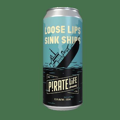 Pirate Life Loose Lips Sink Ships Triple IPA