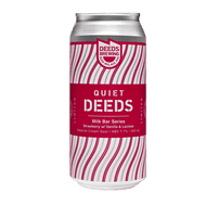 Quiet Deeds Milk Bar Series Strawberry, Lactose & Vanilla Sour Ale
