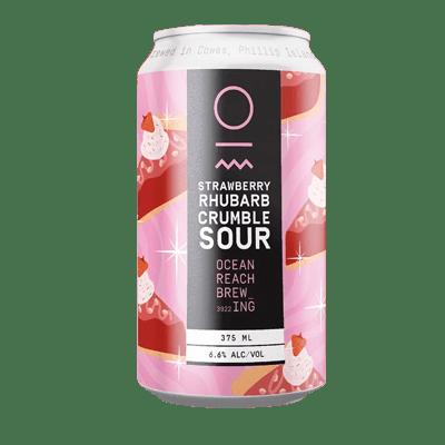 Ocean Reach Strawberry Rhubarb Crumble Sour Ale
