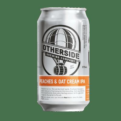 Otherside Peaches & Oat Cream IPA