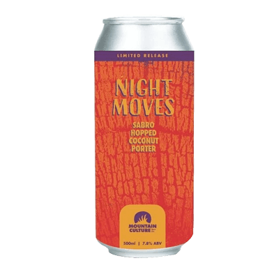 Mountain Culture Night Moves Coconut Porter