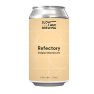 Slow Lane Refectory Belgian Blonde Ale