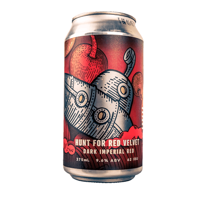 Prancing Pony Hunt For Red Velvet Imperial Red Ale 375ml Can