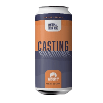 Mountain Culture Casting Shadows Imperial Black Gose
