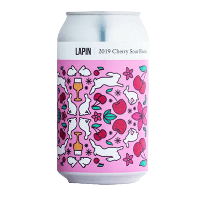 Hop Nation Site Fermentation Project Lapin 2019 Cherry Sour 375ml