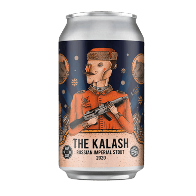 Hop Nation The Kalash Russian Imperial Stout 2020
