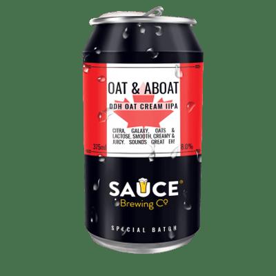 Sauce Oat & Aboat DDH Oat Cream IIPA