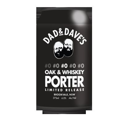 Dad & Dave's #0 Oak & Whiskey Porter