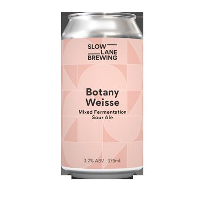 Slow Lane Botany Weisse Mixed Fermentation Sour Ale