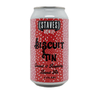 Staves Biscuit Tin Coconut & Raspberry Ale
