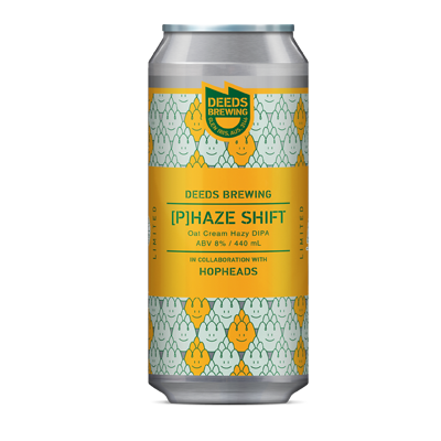 Quiet Deeds Phaze Shift Oat Cream Hazy DIPA (1 Can Limit)