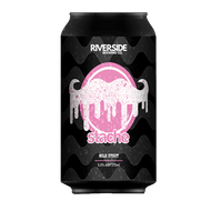 Riverside Stache Milk Stout 375ml Can