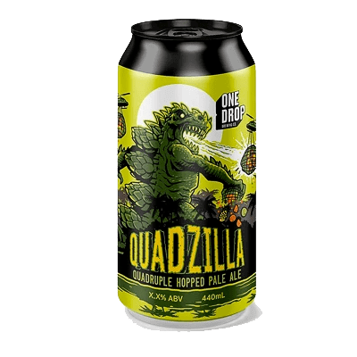 One Drop Quadzilla Quadruple Hopped Pale Ale