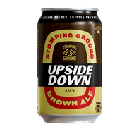 Stomping Ground Upside Down Brown Ale