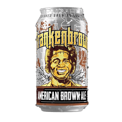 Big Shed Frankenbrown Ale 375ml Can