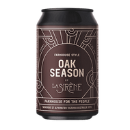 La Sirene Oak Season Farmhouse Ale