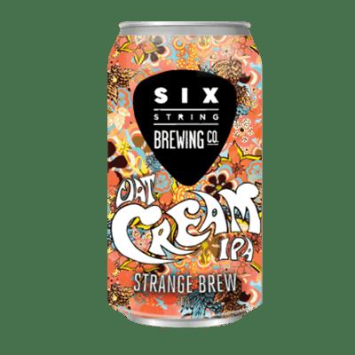 Six String Strange Brew Oat Cream IPA