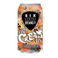 Six String Strange Brew Oat Cream IPA