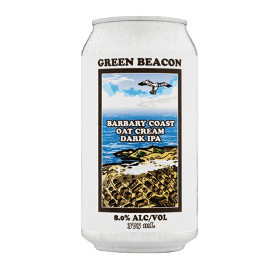 Green Beacon Barbary Coast Oat Cream Dark IPA