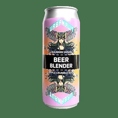 Urbanaut Beer Blender Rhubarb Saison x Apple Crumble Sour