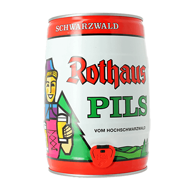 Rothaus Pilsner 5L Keg