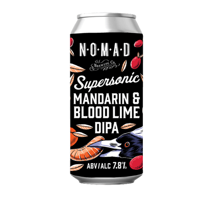 Nomad SuperSonic Blood Lime & Mandarin DIPA