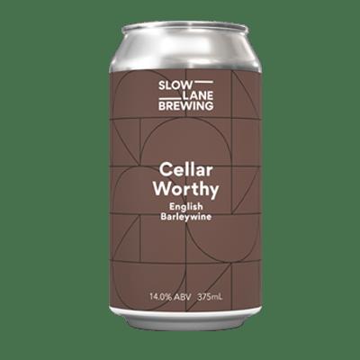 Slow Lane Cellar Worthy English Barleywine