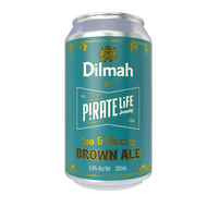 Pirate Life Dilmah Tea & Biccies Brown Ale