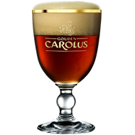 Gouden Carolous Beer Glass