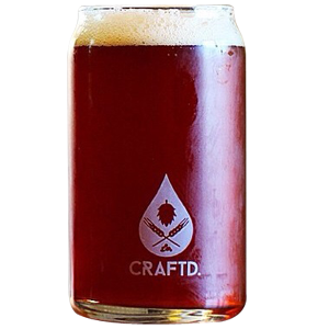 Craftd Uncle Frank Beer Glass