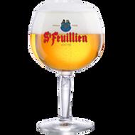 St Feuillien Stemmed Belgian Abbey Ale Beer Glass